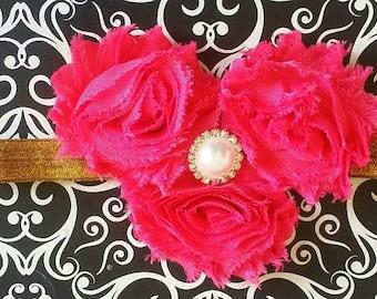 Hot Pink Headband, Fuchsia Headband