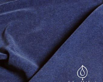 Bio Nicki velvet velour blue mottled dark blue