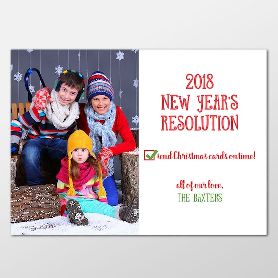 Custom belated holiday card funny new years resolution cards il570xn m4hsunfo