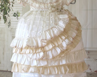 Baptism/ Christening /gown/Vintage Baptism Gown/ Beautiful Victorian Christening gown/Baptism Victorian Gown Angelica