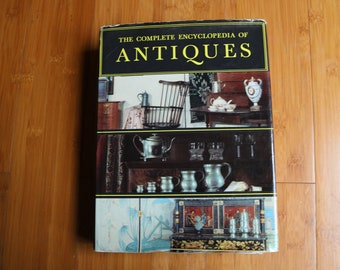 the complete encyclopedia of antiques hardcover book dust jacket vintage 1968