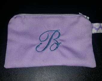 Monogrammed Coin Purse