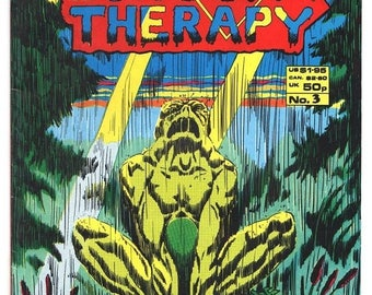 ON SALE Shock Therapy - Issue 3 -- Feb 1987 - - Copper Age -  NM/Mt - Harrier Comics