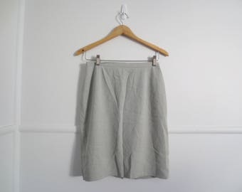 90s grey country road skirt