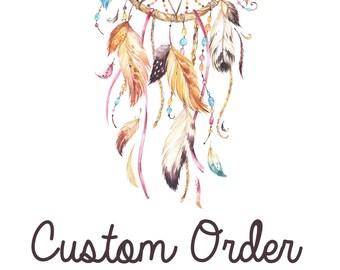 Custom Order - Nikki