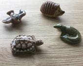 4 Wade Whimsies 1960's Animals
