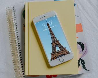 Eiffel Tower iPhone Wallpaper