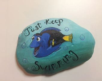 Disney Dory Painted Rock