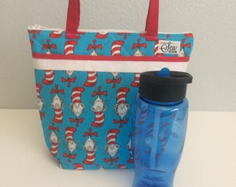 Cat in the Hat Insulated Lunch Bag - Free Shipping!