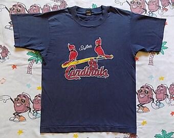 Vintage 90's St. Louis Cardinals logo T shirt, size S/XS 1990 MLB