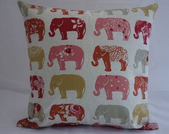 Pillow - Elephant design feature cushion, complete with cushion pad, zip fastening