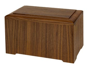 Walnut Marquis Wood Cremation Urn