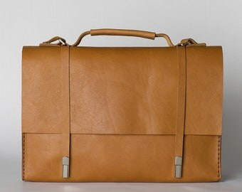 Leather laptop bag/Leather satchel/messenger bag/leather briefcase/leather messenger/mens gift/shoulder bag/macbook bag/shoulder bag