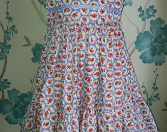 Beautiful handmade 18-24 months dress and bloomers