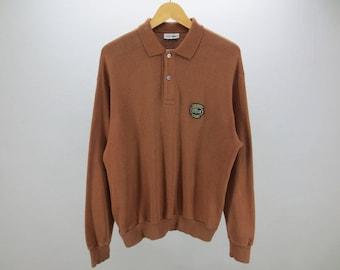 Lacoste Sweater Vintage Lacoste Vintage Lacoste Pullover Men's Size L