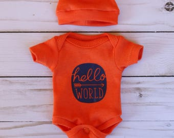 """10"""" bodysuit set clothing for mini reborn silicone OOAK baby doll clothes outfit micro preemie"""