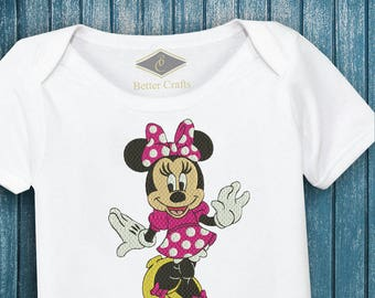 Minnie Mouse Machine Embroidery Designs INSTANT DOWNLOAD