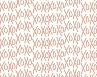 Yes Please XOs Cream, My Mind's Eye for Riley Blake Designs