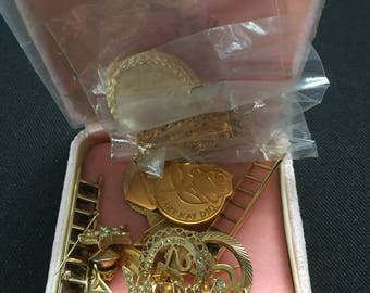FREE Shipping / Assortment of Mary Kay Jewelry For Independent Beauty Consultants / Pendant / Charms / Pins