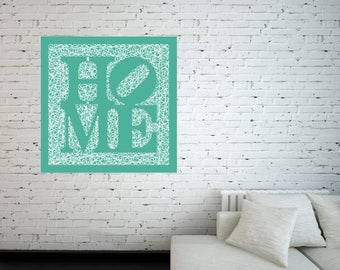 String-Art Panel Home