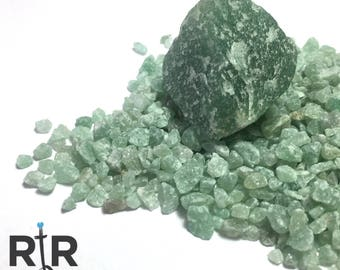 Green Aventurine - Large Sand - 100% Natural Without Fillers