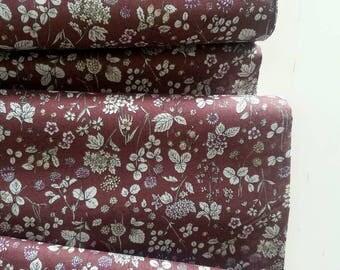 Memoire a Paris Cotton Lawn Fall 2017 - Wildflower(Rust)  - Lecien - Japan, Inc