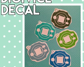 Digivice Decal