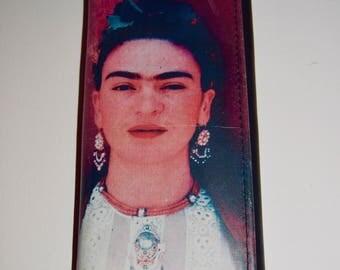 Handmade Leather Clutch Wallet - Frida