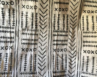 Mali mudcloth textiles fabric Africa Handmade textiles