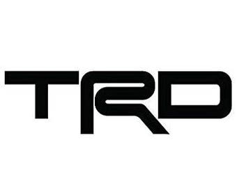 TRD type Decal