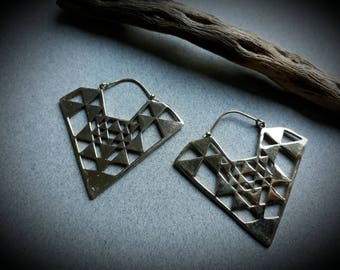 earrings *triangle*