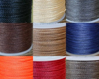 0.55mm Waxed Polyester Thread