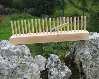 Wooden Peg Loom