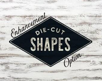 Die-Cut Shape
