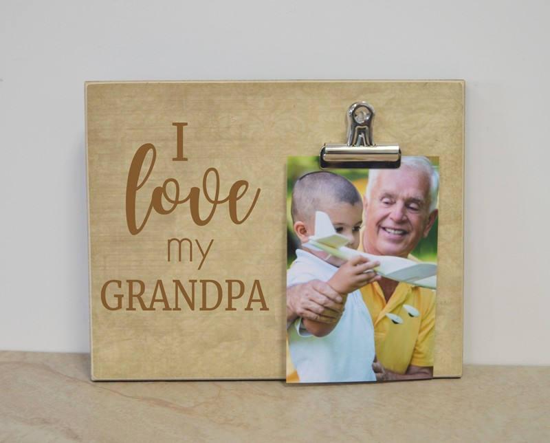 Grandpa Photo Frame Gift For Grandpa Father S Day Gift