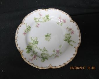 Haviland France Limoges Plate made for The Wilson Grocery Co Greeley CO