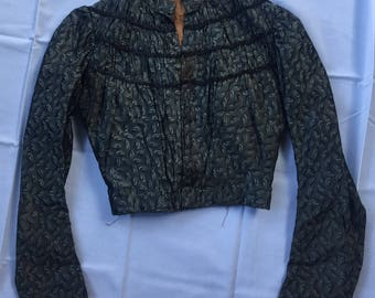 Late 1800's early 1900's victorian blouse