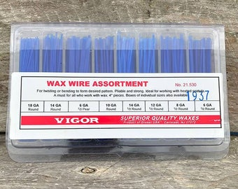 Wax Wire Assortment Various Shapes (21.530)