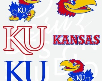 University of Kansas, Jayhawks, Basketball, Football, SVG