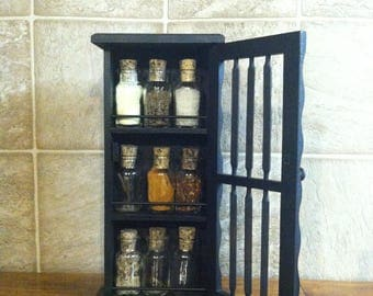 The Bad Witch's Potion Cupboard - Stocked