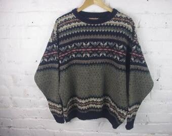 Woolrich sweater vintage 90s winter