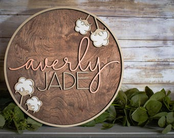 Baby Name Sign Etsy