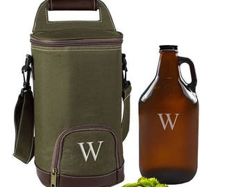 Personalized Growler with Cooler