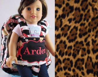 Darling and Doll Backpack in Leopard
