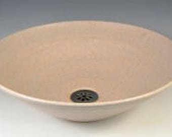 E C Racicot Art Sink Handmade Uptown Stoneware Vessel Sink Appx 15 Wide By 4