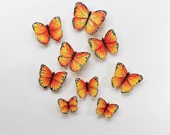Butterfly decor; Monarch butterfly decor; Butterfly wall art; Butterfly; Wall decor; 3d butterfly decor; Butterfly decals; Wall decals