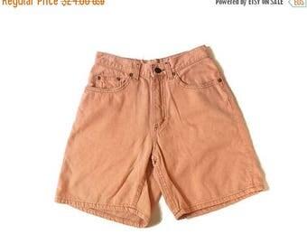 BLOW OUT SALE Vintage Lee Orange High Waist Shorts