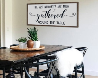 Large Dining Room Sign
