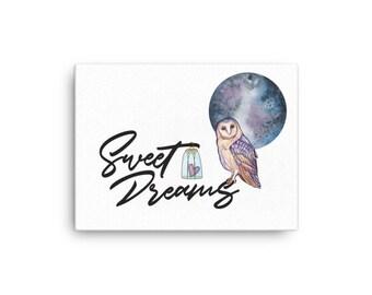 Sweet Dreams Canvas