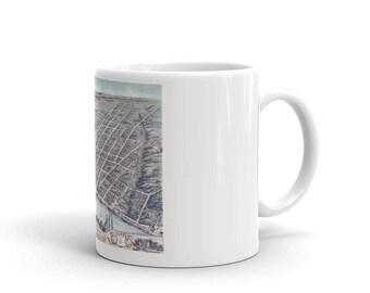 Coffee Mug - Clarksville Tenn 1870